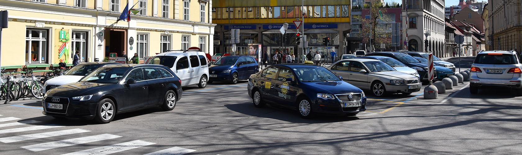 Taxi's in Ljubljana