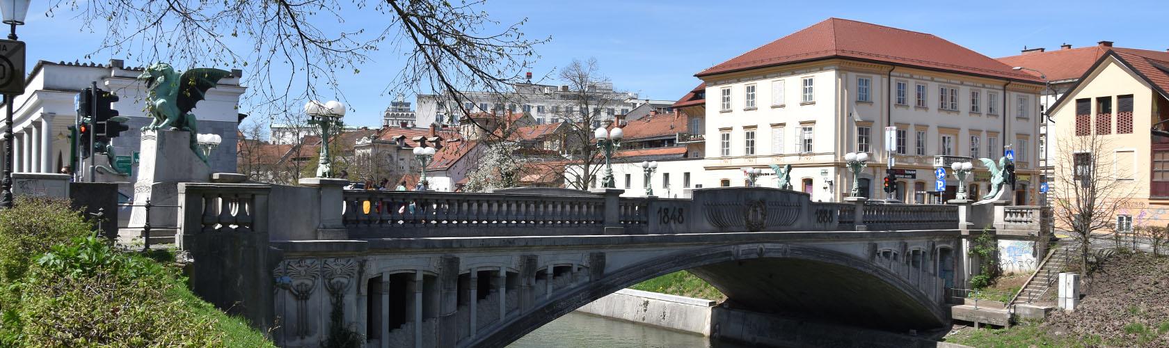 Fietstocht door Ljubljana